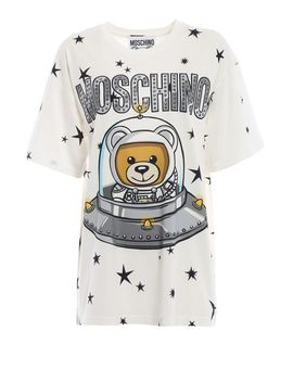 Moschino Space Teddy Bear Moschino Over T Shirt by Moschino