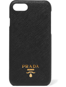Textured Leather I Phone 7 And 8 Case by Prada