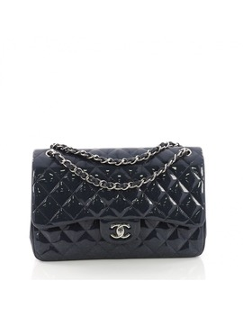Timeless/Classique Patent Leather Handbag by Chanel