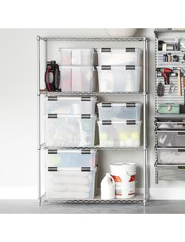 Inter Metro Silver Heavy Duty Home Shelving by Container Store