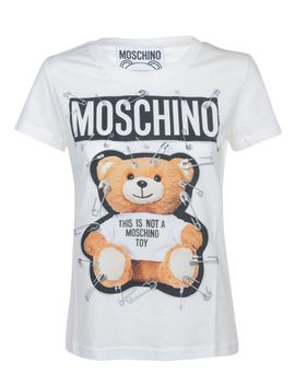 Moschino Safety Pin Bear T Shirt by Moschino