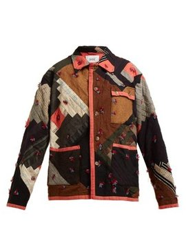 Patchwork Cotton Jacket by Bode