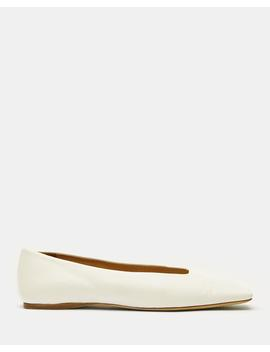Square Toe Flat by Theory
