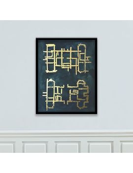 The Arts Capsule Framed Print   Blueprint by West Elm