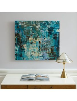 Minted For West Elm   Blue Ocean by West Elm