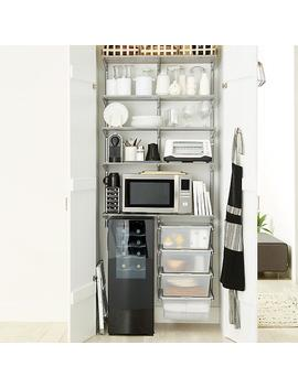 Platinum Elfa 3' Reach In Pantry by Container Store