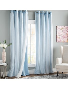 Brockham Solid Blackout Thermal Grommet Curtain Panels & Reviews   Joss & Main by Joss & Main