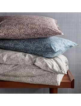 Ellio Organic Duvet Covers And Pillow Shams by Crate&Barrel