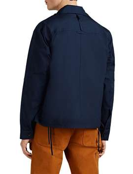 Lightweight Cotton Workwear Jacket by Craig Green