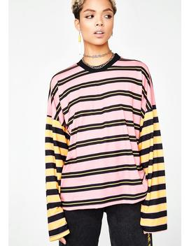 Stripe Skater Long Sleeve by The Ragged Priest