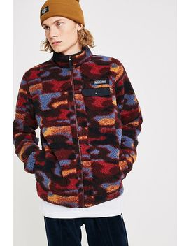 "Columbia Uo Exclusive – Camouflage Fleecejacke ""Mountain Side"" In Beere by Columbia Shoppen"