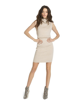 Hailee Blouson Mini Dress by Alice And Olivia