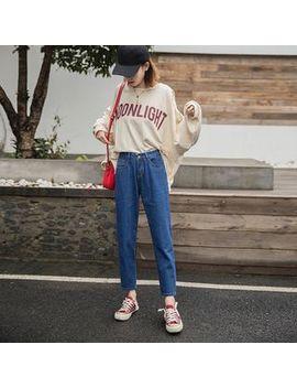 Denimot   Plain Wide Leg Jeans by Denimot