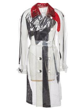 Transparent Trench Coat by Maison Margiela