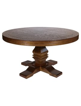 Rez Furniture Cavalli Round Dining Table by Rez Furniture