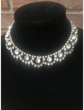 Choker   Diamond Choker     Rhinestone Choker   Vintage Choker by Etsy