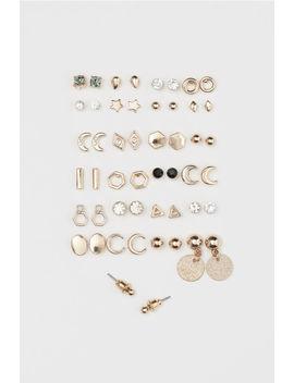 25 Çift Düğme Küpe by H&M
