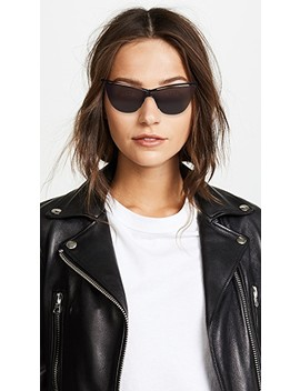 Sl 249 Metal Cat Eye Sunglasses by Saint Laurent
