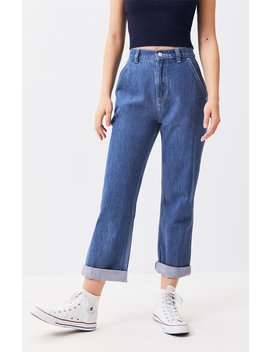 Pac Sun Ramp Blue Carpenter Mom Jeans by Pacsun