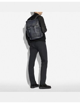Rivington Backpack In Signature Leather by Coach