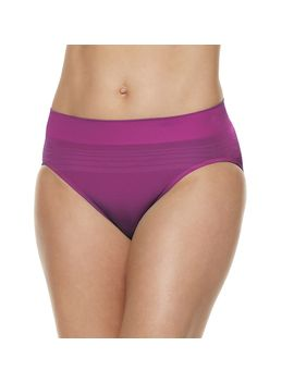 Warner's No Pinching No Problem Seamless Striped Hi Cut Panty Rt5501 P   Women's by Kohl's