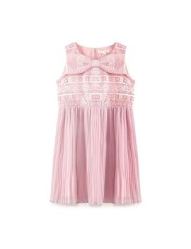 Yumi Girl   Pale Pink Floral Lace Dress by Yumi Girl