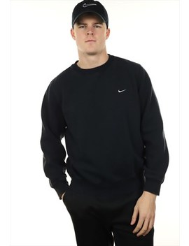 Vintage Nike Sweatshirt Black by Nike