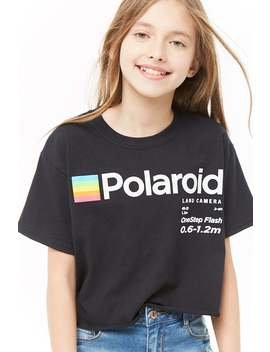 Girls Polaroid Graphic Tee (Kids) by Forever 21