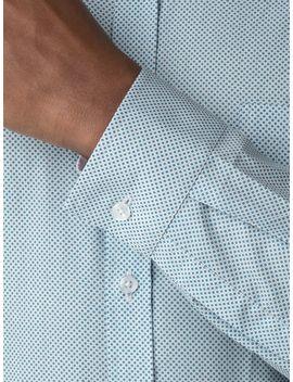 Teal Spot Shirt by Racing Green