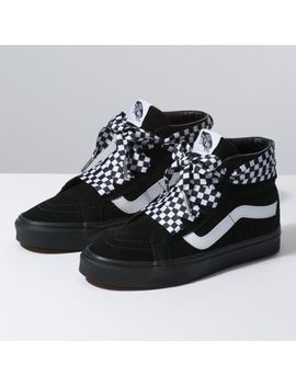Check Wrap Sk8 Hi Alt Lace by Vans