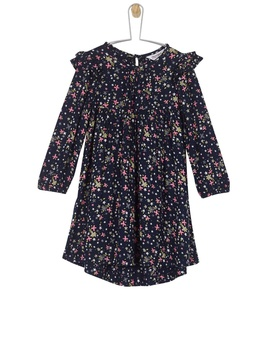 **Girls Navy Floral Dress (18 Months   6 Years) by Dorothy Perkins