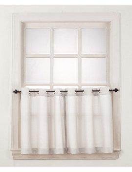 """No. 918 Montego 56"""" X 24"""" Window Tier Pair by Lichtenberg"""