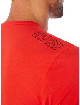 Tee Logo Crew Neck T Shirt by Hugo Boss