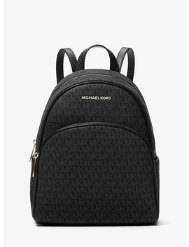 Abbey Medium Logo Backpack by Michael Michael Kors