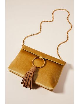 Sabina Tasseled Ring Clutch by Anthropologie