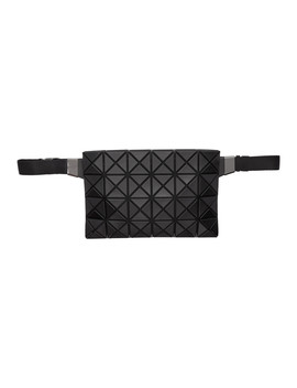 Black Matte Prism Waist Bag by Bao Bao Issey Miyake