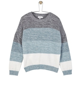 **Girls Blue Space Dye Jumper (5   12 Years) by Dorothy Perkins