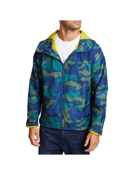 Camo & Anchor Hooded Jacket by Nautica