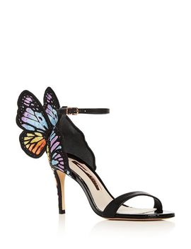 Women's Chiara Embroidered Butterfly High Heel Sandals by Sophia Webster