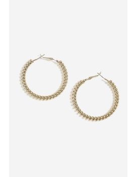 Coil Hoop Earrings by Topshop