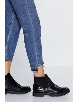 Dome Sweet Dome Chelsea Boot by Nasty Gal