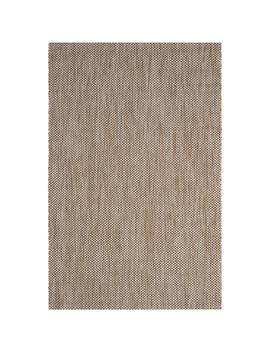 Safavieh Courtyard Verd Natural/Black Indoor/Outdoor Coastal Area Rug (Common: 5 X 8; Actual: 5.3 Ft W X 7.6 Ft L) by Lowe's