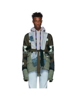 Green Greg Lauren Edition Field Jacket by Alanui