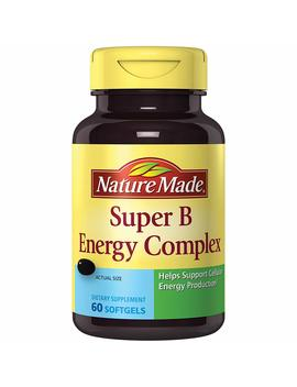 Nature Made Super B Complex Full Strength Mini Softgels 60 Ct by Nature Made