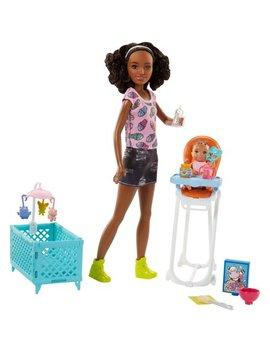 Barbie Babysitters Inc. Nikki Doll And Feeding Playset by Barbie