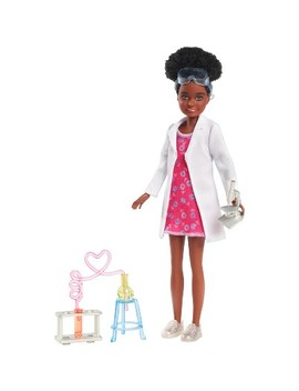 Barbie Team Stacie Friend Of Stacie Doll Science Playset With Accessories by Barbie