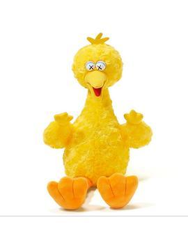 Kaws X Sesame Street Big Bird Toy by Uniqlo