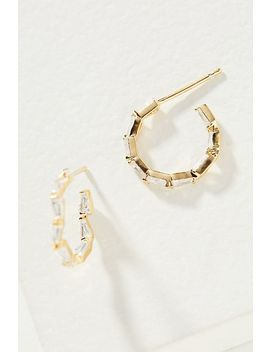 Jenna Hoop Earrings by Anthropologie