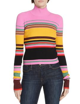 Dara Stripe Sweater by Dvf
