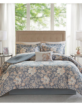 Lily Reversible 7 Pc. Twin Comforter Set by Madison Park Essentials